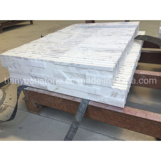 Natural Stone Volakas White Marble Culture Stone Wall Panel