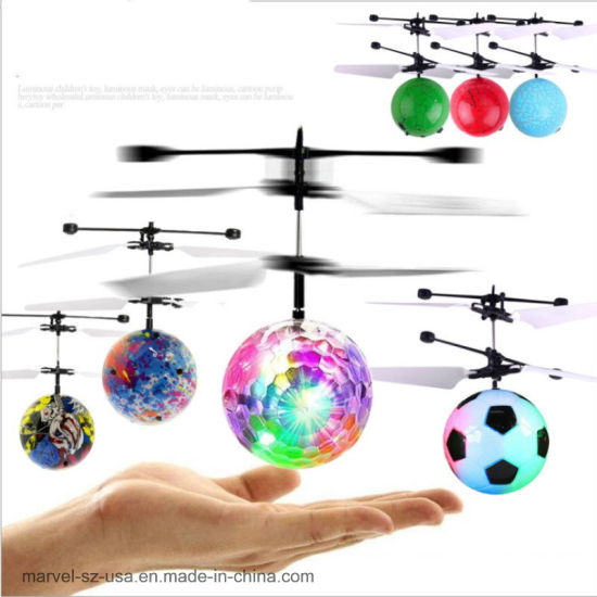RC Flying Ball Luminous Balls Remote Control Toys RC Helicopter