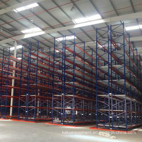 Heavy Duty Vna Pallet Rack for Warehouse Storage