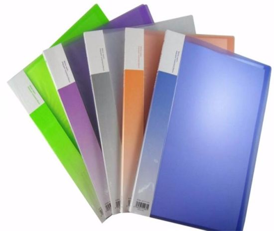 PP Stationery Office/ School 20 Clear Pockets A4 Document Display Book File Folder pictures & photos