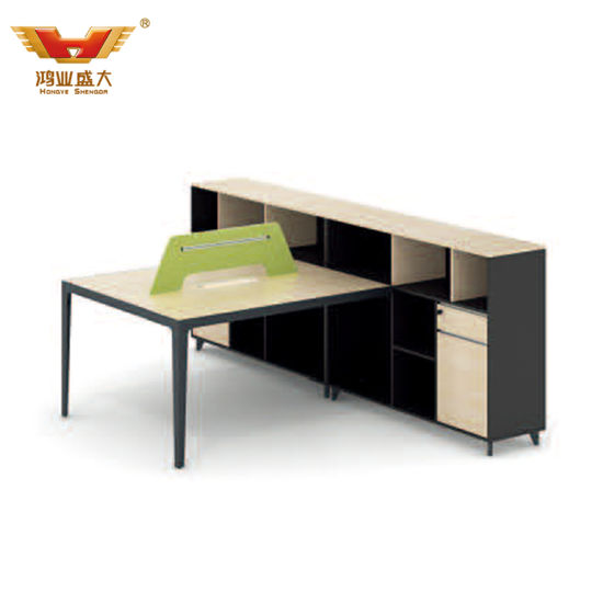 Newest Style Wooden Office Partition with High Cabinet (YY-D1316)