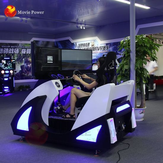 New Design Vr Robot Platform F1 Car Racing Driving Simulator