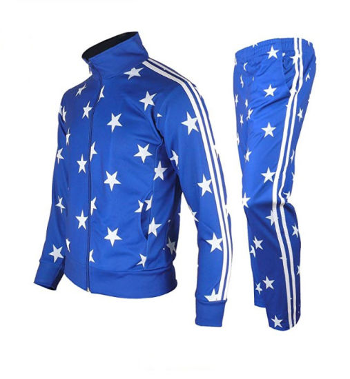 Beautiful Tracksuit with Star Printing