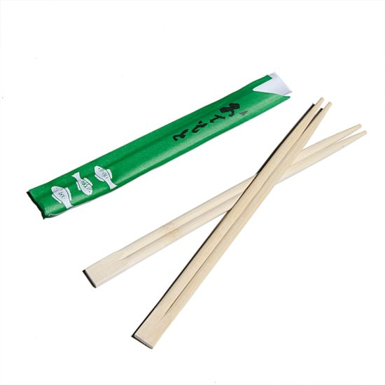 Wholesale Top Quality Japanese Disposable Bamboo Chopsticks In Individual Paper Sleeve