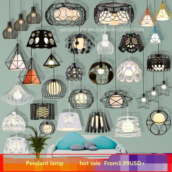 Diy Industrial Ajustable Hanging Pendant Light Metal Edison Pendant Lamp