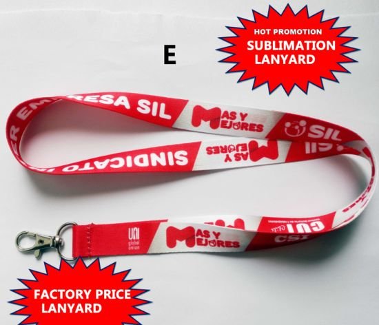 Lanyard, ID Card Holder Lanyard, Gift Lanyard, Polyester Lanyard, Lanyard with Clip pictures & photos