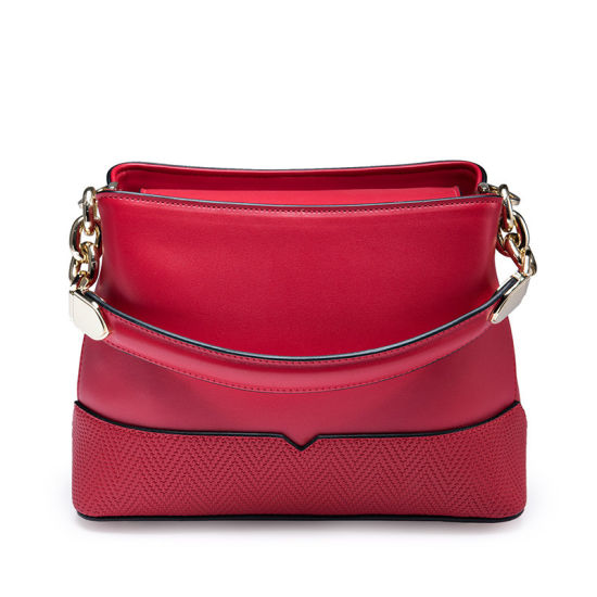 c815cde87f8d China New Models Red Leather Shoulder Bags Handbags for Women ...