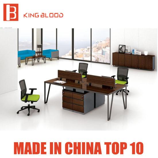 Solid Wood Modern Organizer Office Desk Furniture