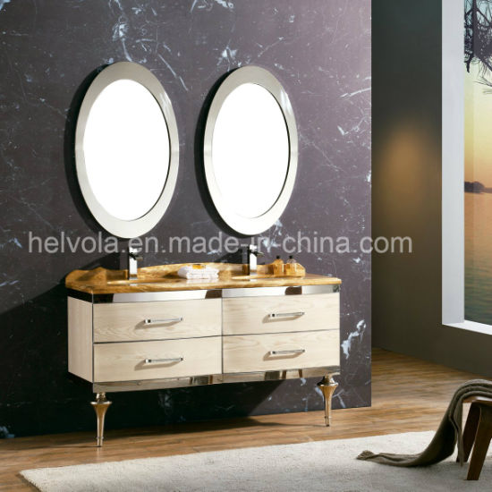 2 Sanitary Ware Bathroom Basin Accessories Cabinet Furniture Solid Wood Pvc Mdf With Mirror Stainless Steel Vanity