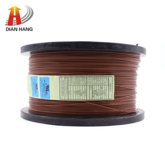 High Temperature Single Core Electrical Cable UL1330 26 AWG FEP Insulated Wire Electrical Copper Thinned Control Wire Cable