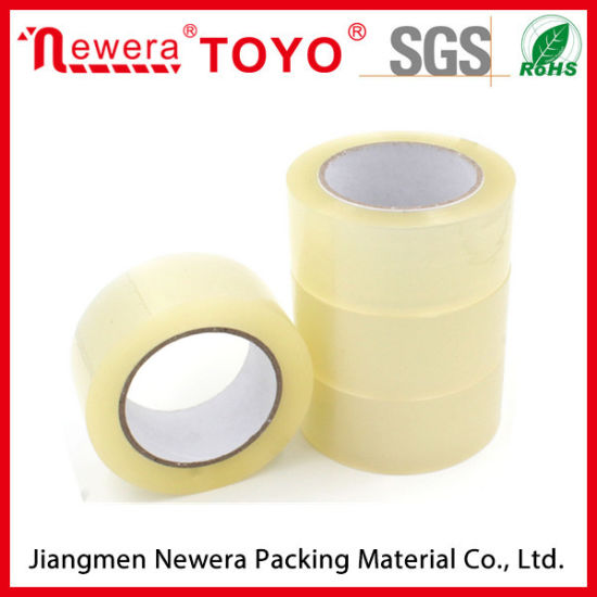 High Adhesion BOPP Transparent Adhesive Tape for Carton Sealing pictures & photos