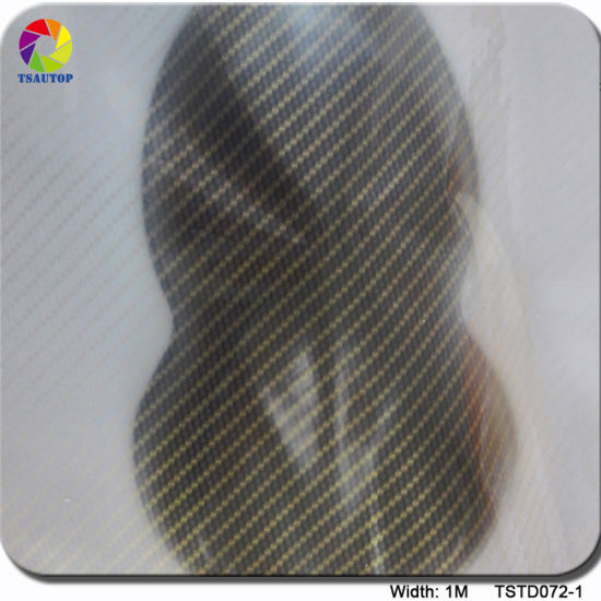 Tsautop 1m Tstd072 Carbon Fiber PVA Water Soluble Film/Transfer Printing Film pictures & photos