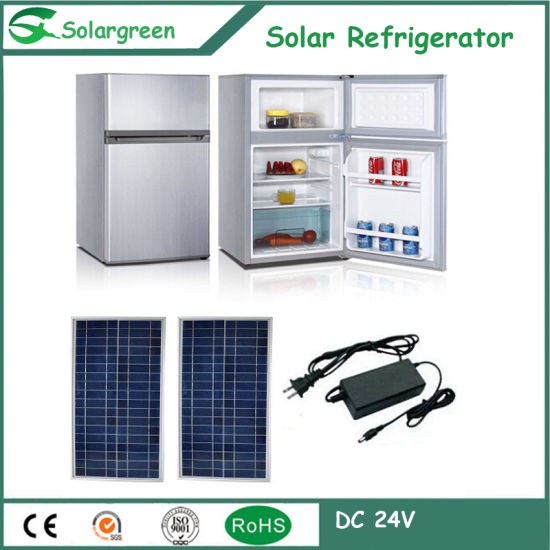 12/24V DC Compressor Solar Chest Deep Fridge Refrigerator Freezer pictures & photos