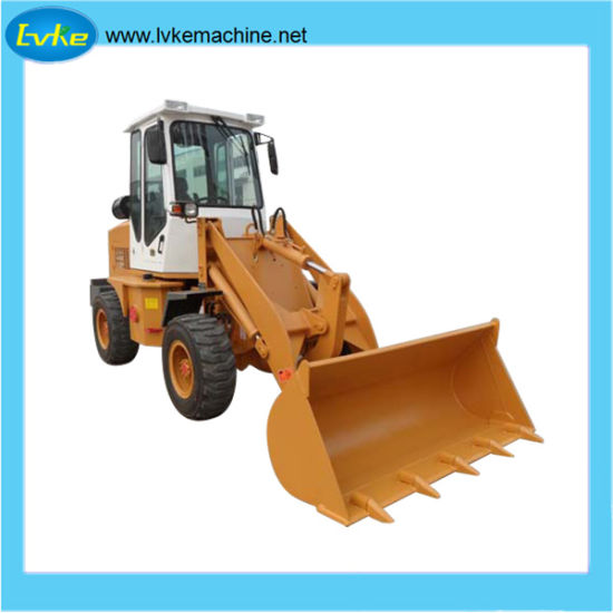 China Manufacture Wheel Construction Machine/Front Shovel Loader/Earth-Moving Equipment pictures & photos