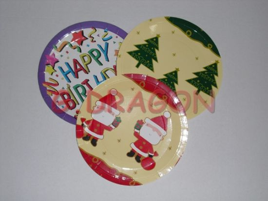 china heavy duty premium party paper plates gd china colored