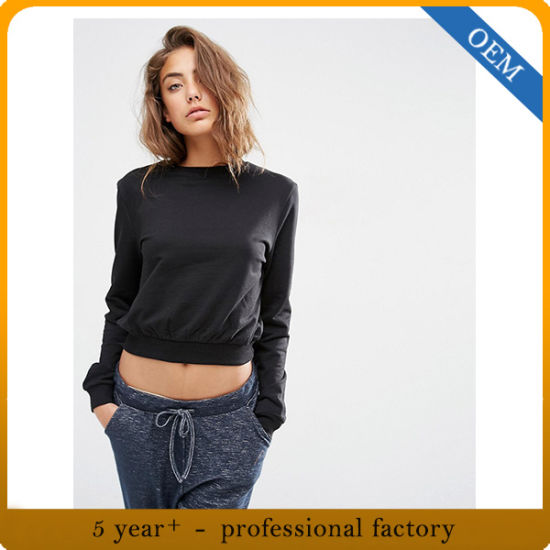 Custom New Design Sweatshirt Women pictures & photos