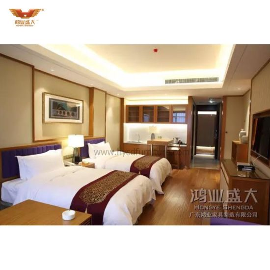 Modern Coustomized Hotel Furniture Bedroom Sets (HYSD-HT-01)