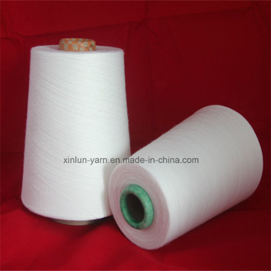 Ne 45/1 T/C 90/10 Polyester Cotton Blend Yarn pictures & photos