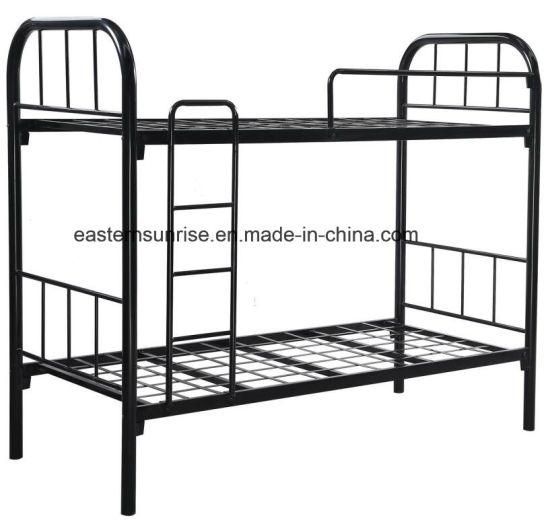China Metal Steel Bunk Bed Colored Metal Bunk Bed China Steel Bunk