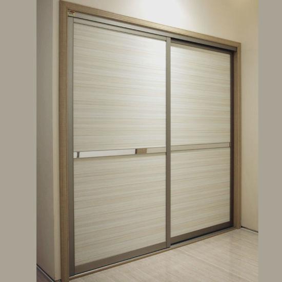 Oppein Classic Laminate Door Panels Bedroom Closet (YG21230)