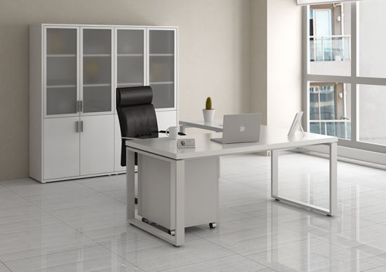 Fashion &Modern Office Manager Desk of Office Furniture (YLDK1021-12)