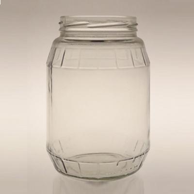 900ml High Quality Food Grade Glass Honey Jam Candle Jar