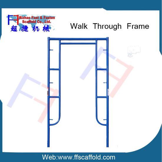 Frame Scaffolding Walk Through Scaffold Frame