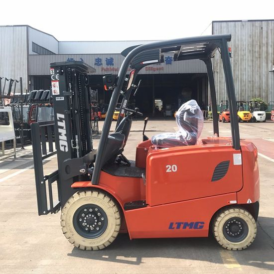 Ltmg Brand 1.5 Ton 2 Ton Electric Forklift with Zapi Controller