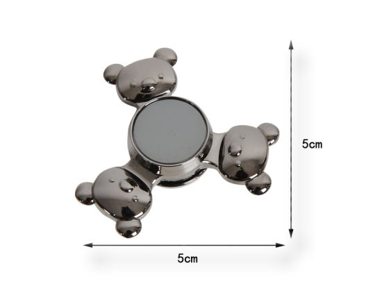 Novelty 2017 Gifts Bear Design Metal Toy EDC Hand Spinner pictures & photos