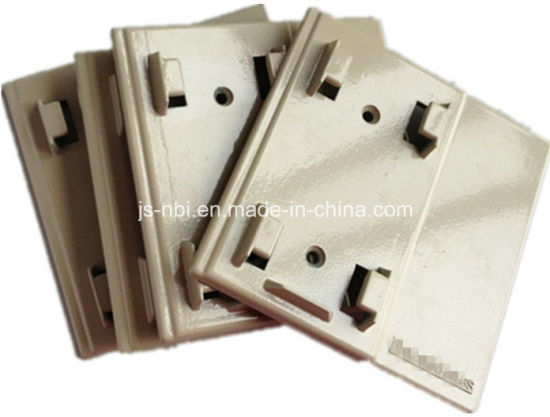 Low Cost Zin Alloy Casting Faceplate with Powder Coating pictures & photos