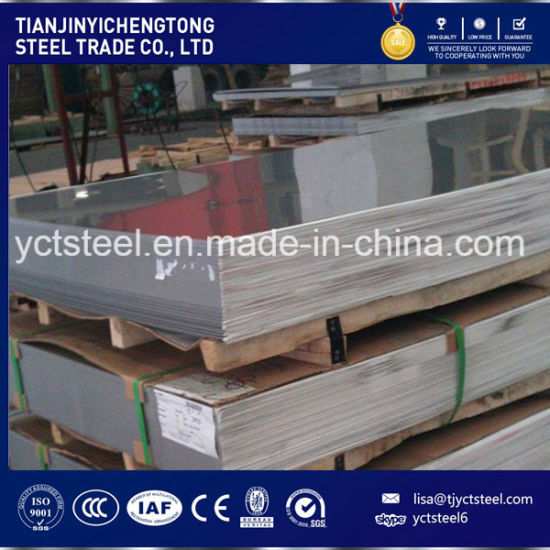 Cold Rolled SUS 304 Stainless Steel Sheet / Plate (304 316 316L 321) pictures & photos