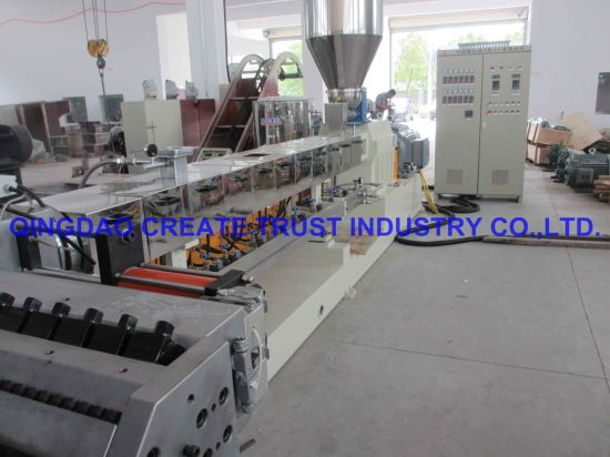 New Advanced Technology PP/PE/PVC/ABS Plastic Extrusion Machine pictures & photos