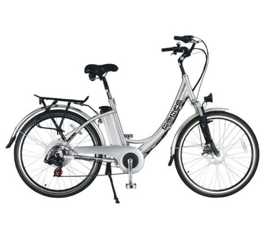Urban Road Electric Cycle E Bicycle Mobility Scooter 200W Brushless Motor Shimano Gear