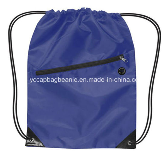 f22bd5522e China Promotional Blank Waterproof Drawstring Bag - China Draw ...