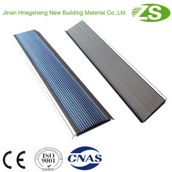 Jinan Supplied Anti-Slip Rubber Stair Nosing for Vinyl Floor pictures & photos