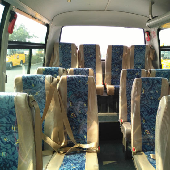 Low Price Chinese 26 Seats Coach with Yuchai Engine pictures & photos