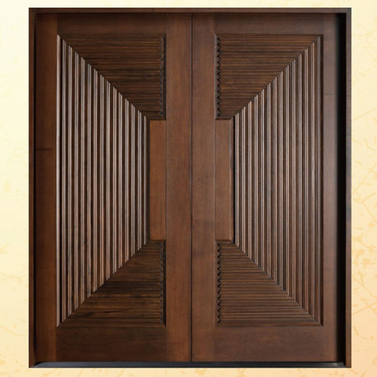 Swing Solid Wood Entrance Door