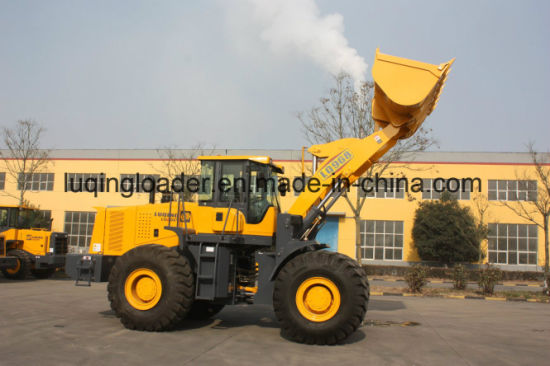 Multifunctional Wheel Loader with Joystick and Hydraulic Pump pictures & photos