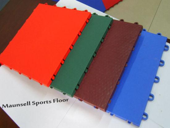 China Professional Suge Interlocking Sports Floor Tiles China Pp