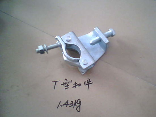 Drop Forged Galvanized T Type Scaffold Coupler