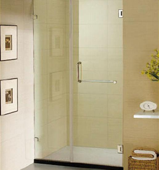 China Frameless Shower Door Spring Hinge Glass Shower Door China