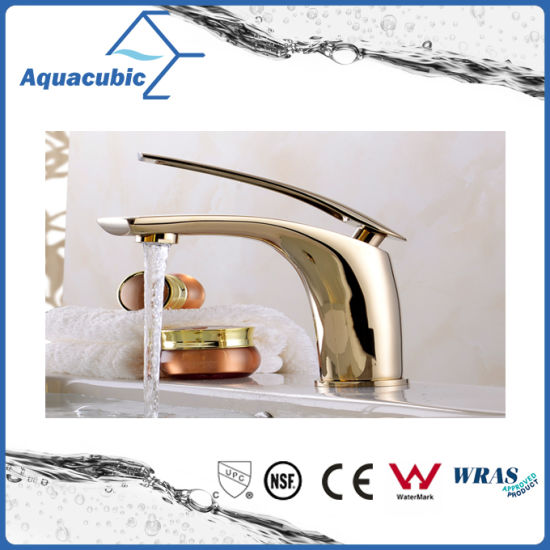 Bathroom Brass Single Handle Basin Mixer Tap Faucet (AF2261-6) pictures & photos