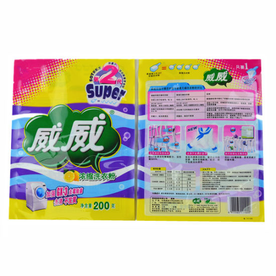 Laundry Powder Packing Bag, Washing Powder Bag, Liquid Package Bag