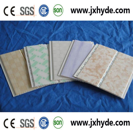 2.1~2.5kgs Weight Hot-Stamping PVC Paneling Decoration Ceiling Panel pictures & photos
