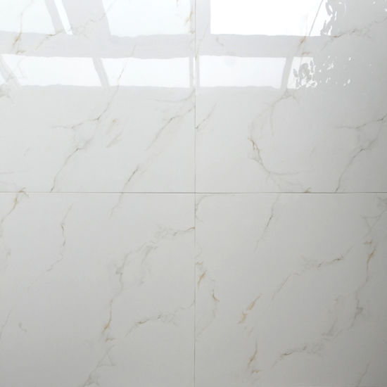 China 60x60 Price In Dubai White Wall Porcelain Polished Floor Tile
