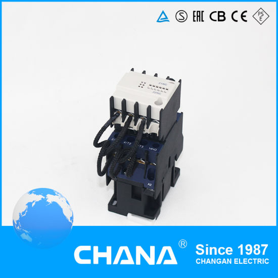 ac dc 25~95a capacitor switching contactor pictures & photos