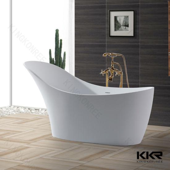 Delightful Italian Design Bathroom Furniture Stone Freestanding Bathtubs