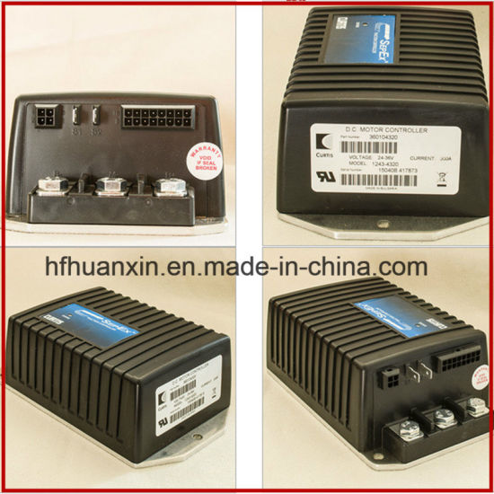 China curtis speed pmc 1243 4320 24v 36v 300a dc sepex for Curtis dc motor controller 1243