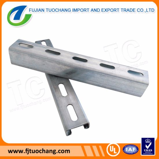 Gi Slotted Channel Unistrut Channel pictures & photos