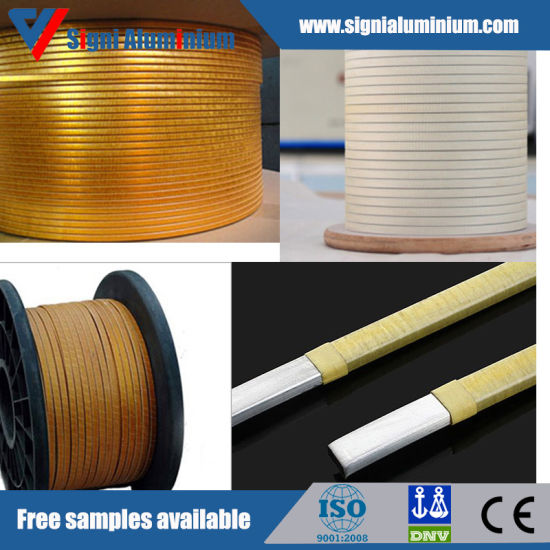 Insulated Nomex Paper Covered Aluminum Magnet Wire